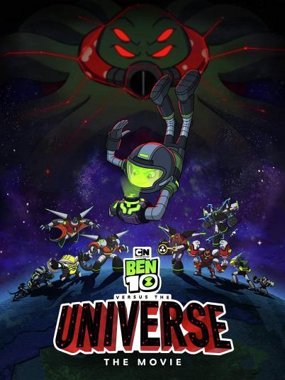 Ben 10 Versus the Universe: The Movie   2020   Hindi + English   1080p   720p   WEB-DL
