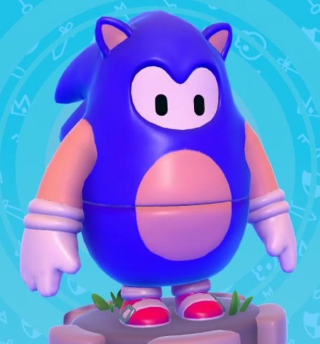 Sonic w Fall Guys nr 1